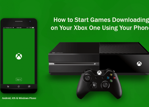 ارسال دستور دانلود بازی های کنسول Xbox One از طریق گوشی هوشمند