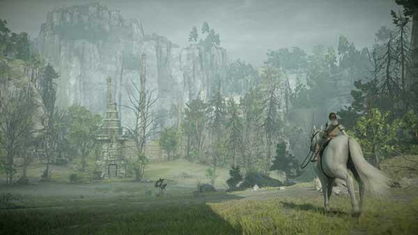 جهان باز بودن بازی Shadow of the Colossus