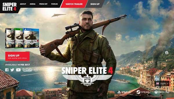 بازی sniper elite 4 برای Xbox One و PC