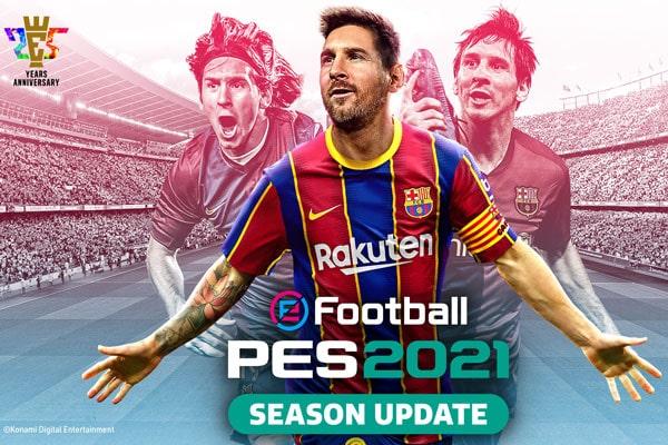 نقد و بررسی بازی eFootball PES 2021